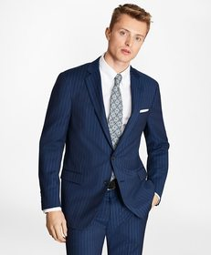 Brooks Brothers Regent Fit BrooksCool® Pinstripe S