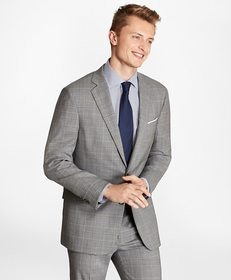 Brooks Brothers Regent Fit BrooksCool® Plaid Suit