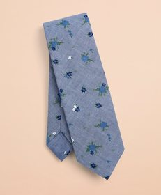 Brooks Brothers Ditzy-Print Floral Cotton Tie