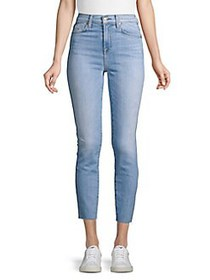 7 For All Mankind Roxanne Ankle Cutoff Jeans LIGHT
