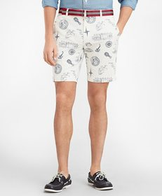 Brooks Brothers Nautical Print Shorts