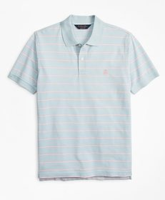 Brooks Brothers Original Fit Thin Stripe Polo Shir
