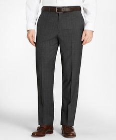 Brooks Brothers Madison Fit Plaid Trousers