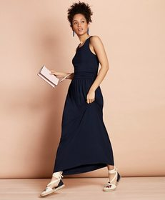 Brooks Brothers Jersey Maxi Dress