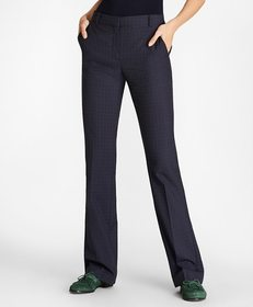 Brooks Brothers Checked Wool Pants