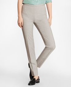Brooks Brothers Stretch-Wool Ankle Pants