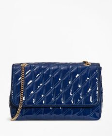 Brooks Brothers Quilted Patent Leather Convertible
