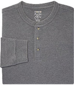 Jos Bank 1905 Collection Tailored Fit Henley Long