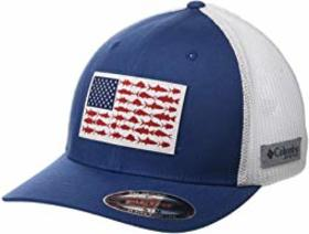 Columbia PFG Mesh™ Fish Flag Ball Cap