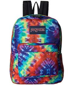 JanSport Red/Multi Hippie Days