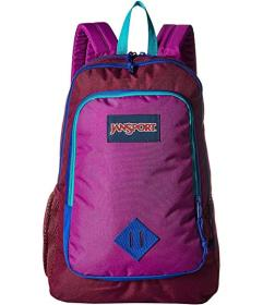 JanSport Raisin Purple/Purple Plum