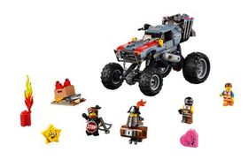 Lego Emmet and Lucy's Escape Buggy!