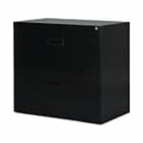 Staples 2-Drawer Lateral File Cabinet, Locking, Le
