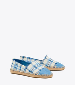 Tory Burch COLOR-BLOCK WOVEN ESPADRILLE