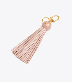 Tory Burch TASSEL CHARGER-WIRE KEY RING