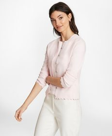 Brooks Brothers Supima® Cotton Pointelle Scalloped