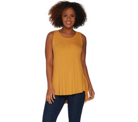LOGO Layers by Lori Goldstein Knit Tank with Shark