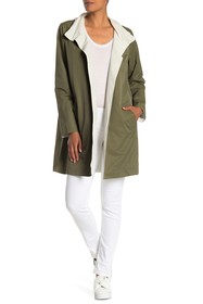 Eileen Fisher Reversible Stand Collar Jacket