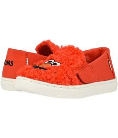 TOMS Red Elmo Faux Shearling Face/Canvas