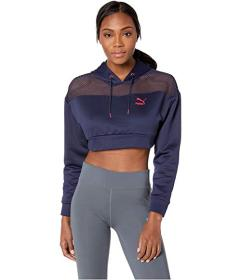 PUMA Flourish Touch of Life Cropped Hoodie