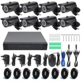 Security Camera 1080P Security Camera System 8CH D