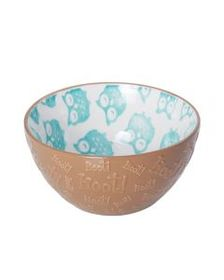 Pfaltzgraff Brown Hoot Soup Cereal Bowl