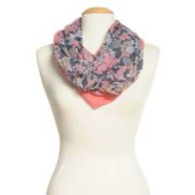 Womens Capelli New York 2Pk. Floral Loop Scarf