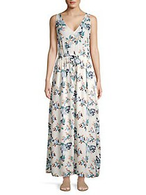 Lucky Brand Floral-Print Maxi Dress NATURAL