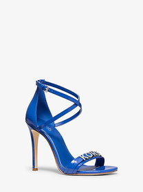 Michael Kors Goldie Patent Leather Sandal