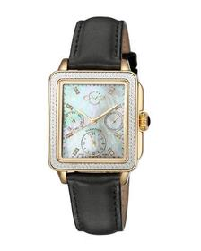 Gv2 30mm Bari Diamond Leather Watch