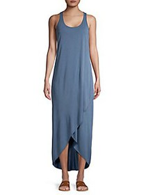 NIC+ZOE Boardwalk Washed Hi-Lo Maxi Dress WASHED R