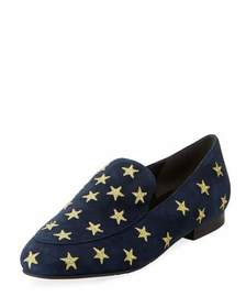 Kenneth Cole Westley Stars Suede Loafers