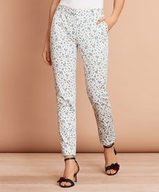 Brooks Brothers Floral-Print Stretch Cotton Sateen