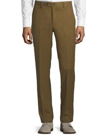 Tailorbyrd Men's Cavalry Stretch Straight-Leg Pant