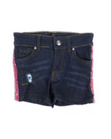 Delia's Girl side pink sequins taping shorts (4-6x
