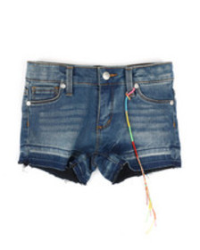 DKNY Jeans hipster hem & release shorts (4-6x)