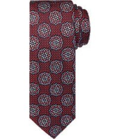 Jos Bank Reserve Collection Medallion Tie - Long C