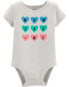 carters Baby Girl Mom Dad + Me Collectible Bodysui