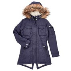 XOXO Girls Sherpa Lined Anorak with Faux Fur Trim