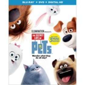 The Secret Life Of Pets (Blu-ray + DVD + Digital H