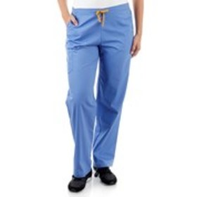 Drawstring Boot Cut Cargo Scrub Bottoms