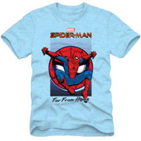 Young Mens Marvel Spider-Man Far From Home Movie T