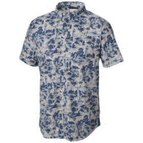 Columbia Men's Rapid Rivers Printed Short-Sleeve S