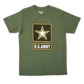 Young Mens Army Graphic Tee