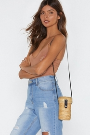 Nasty Gal Womens Natural WANT You're Ex-straw-dina
