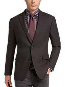 Awearness Kenneth Cole Brown Tic Slim Fit Sport Co