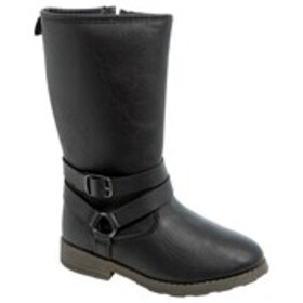 Toddler Girl Buckle Strap Riding Boots