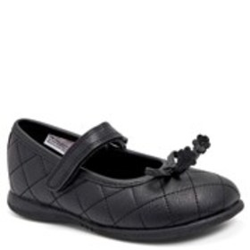 Toddler Girl Quilted Mary Janes