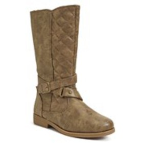 Girls Quilted Riding Boots