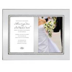 Lenox® Devotion™ Double Invitation Picture Frame -